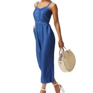 Lauren Conrad Denim Jumpsuit